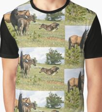 Wild Horses of Montana Graphic T-Shirt