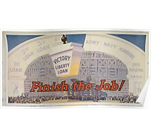Finish the job! Poster
