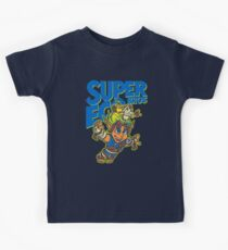 Super Eco Bros Kids Tee