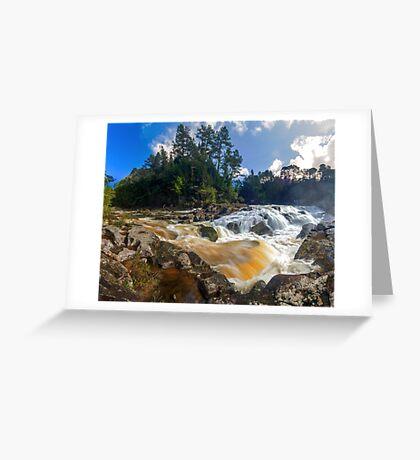 Mclaren Falls Greeting Card