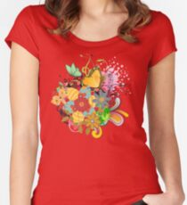 Frühling Women's Fitted Scoop T-Shirt