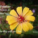 Matthew 5:8 by mariatheresa