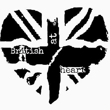 Brit at Heart (Black) by sherlockwho