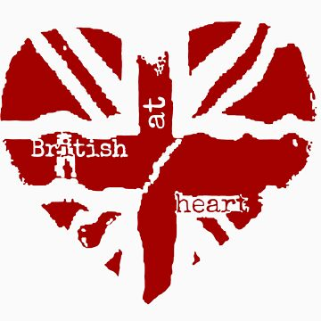 Brit At Heart (Red) by sherlockwho