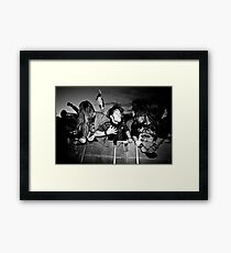 tilt it at your best Framed Print