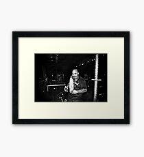Kirk Windstein (Crowbar) Framed Print