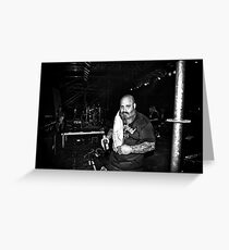 Kirk Windstein (Crowbar) Greeting Card