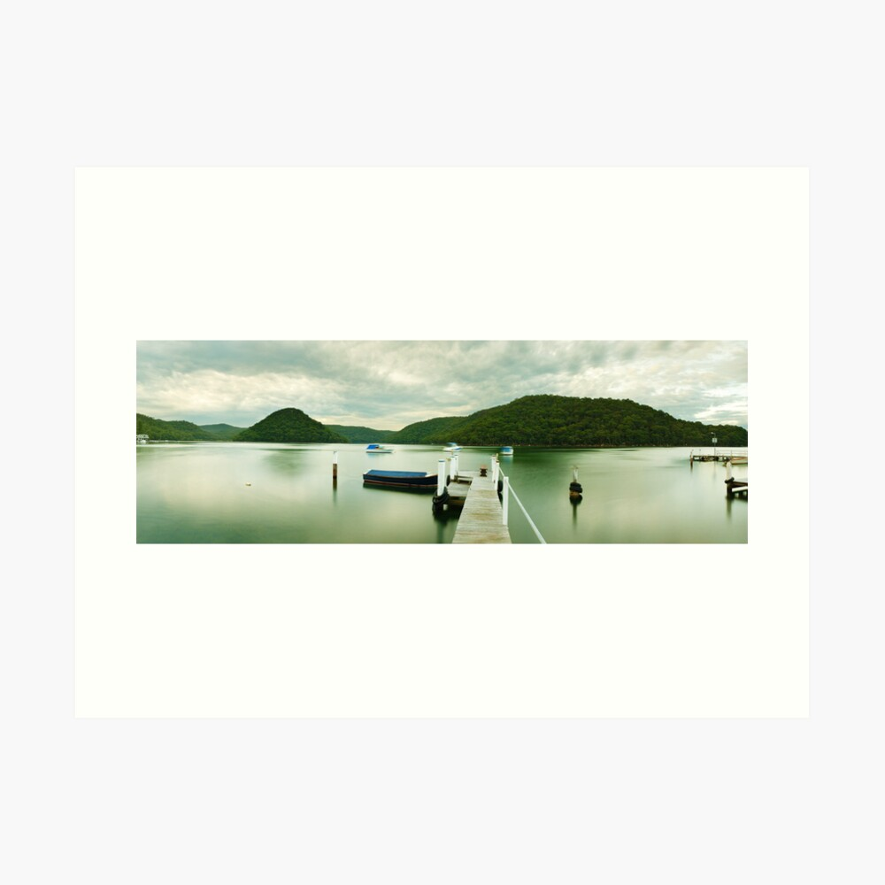 Gosford Pier, New South Wales, Australia Art Print