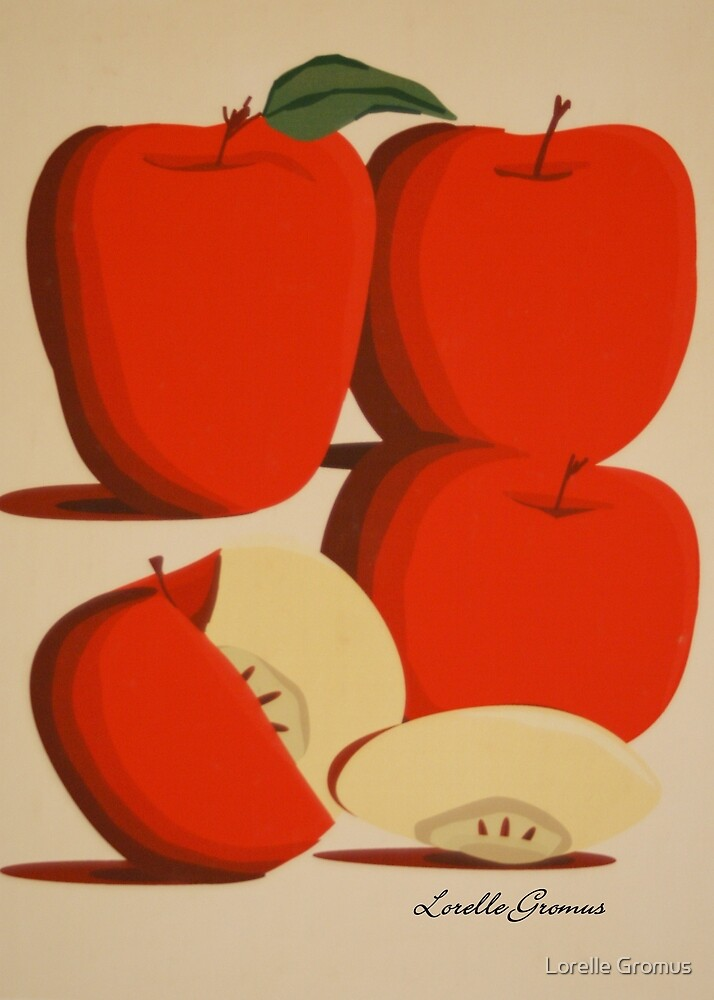 An Apple A Day by Lorelle Gromus