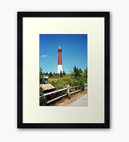The Pride of the Jersey Shore, Barnegat Light Framed Print