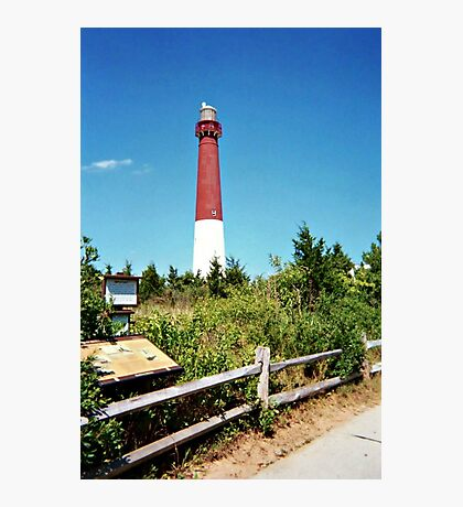 The Pride of the Jersey Shore, Barnegat Light Photographic Print