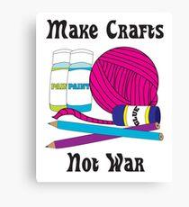 Make Crafts Canvas Print