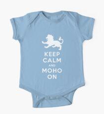 Keep Calm and MoHo On One Piece - Short Sleeve