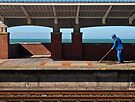 A station next to the sea by awefaul