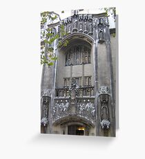 Supreme Court, London Greeting Card
