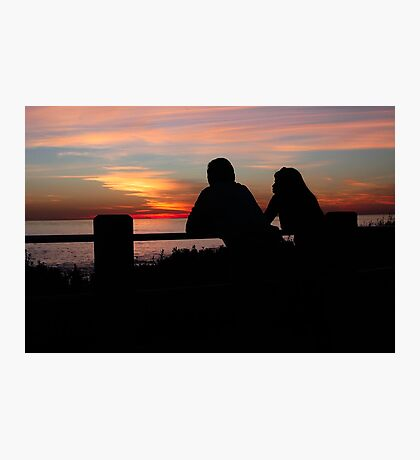Together, End of Day ♥ Photographic Print