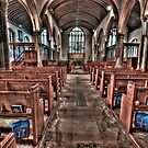 Ancient Lingfield Church by DonDavisUK