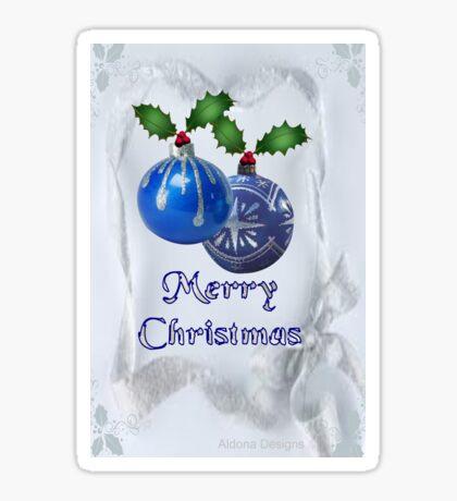 Christmas Ornaments (20038  Views) Sticker