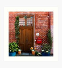 The plumber's home Art Print