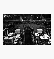 The heart of San Francisco Cable-Car Photographic Print