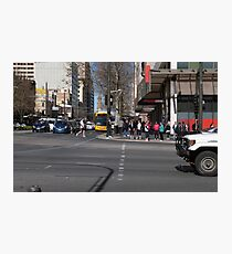 Cnr. King William Rd. & North Terrace, Adelaide CBD S.A. Photographic Print