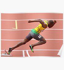 Usain Bolt Poster