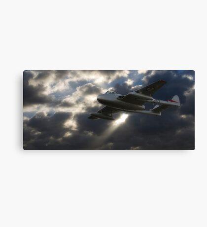 DH100 Vampire FB.6 Canvas Print