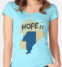 Hope!! (time machine) Women's Fitted Scoop T-Shirt