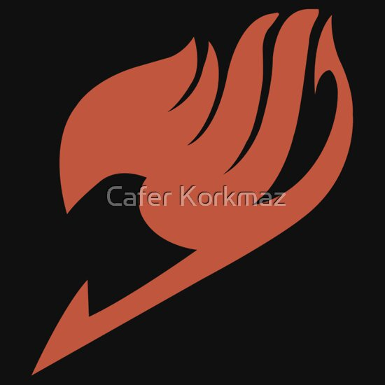 """Fairy Tail Logo"" T-Shirts & Hoodies by Cafer Korkmaz ..."