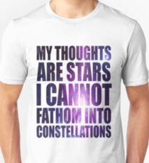 The Fault in our Stars - Stars Quote T-Shirt