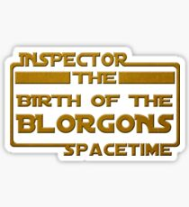 Birth of the Blorgons Sticker
