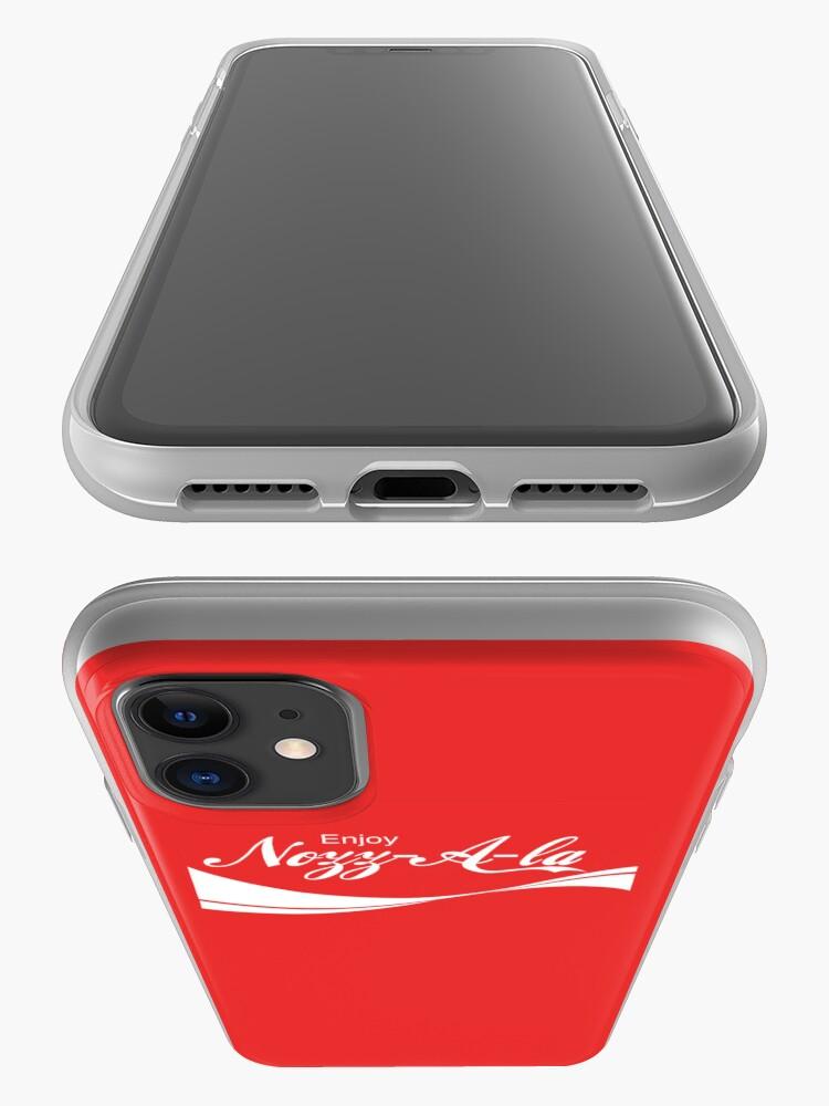 Alternate view of Enjoy Nozz-A-la iPhone Case & Cover