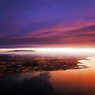 Nigh Flight over Edinburgh. Scotland by JennyRainbow