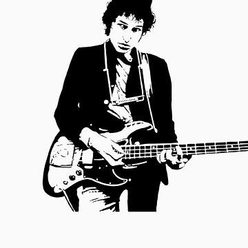 Bob Dylan by WickedPixel