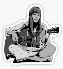 Joni Mitchell - Shaded Sticker