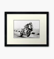 James toseland Framed Print