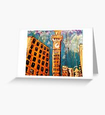Bromo seltzer greeting cards redbubble bromo seltzer tower greeting card m4hsunfo