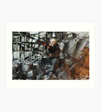 Grozny march 2005 bis Art Print