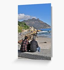 Hout Bay, South Africa Greeting Card