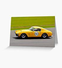 Ferrari 250 No 60 Greeting Card