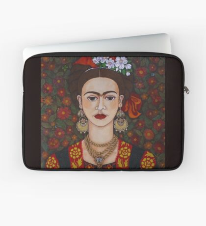 I am Obsessed with Frida T-shirt Laptop Sleeve