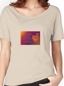 Thank You for Being You Poetry Greeting Card Women's Relaxed Fit T-Shirt