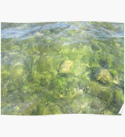 Rippled Water Poster