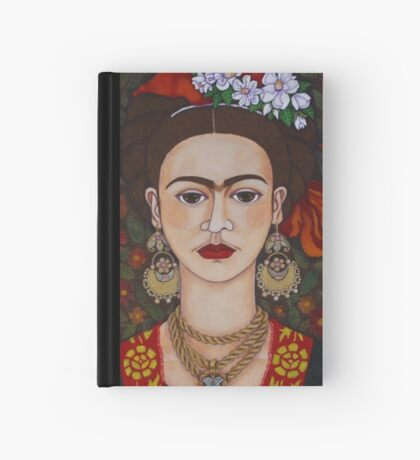 I am Obsessed with Frida T-shirt Hardcover Journal
