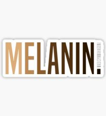 MELANIN. Sticker