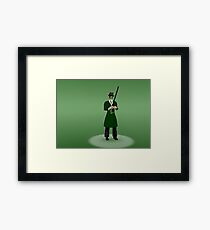the green hornet Framed Print