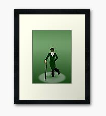 the green hornet and sting Framed Print