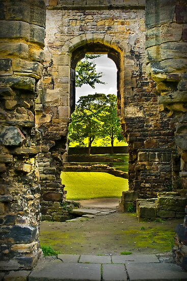 Through the Keyhole. by Colin Metcalf