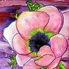 Pink Anemone by Alexandra Felgate