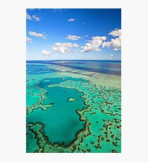 Heart Reef Great Barrier Reef Photographic Print